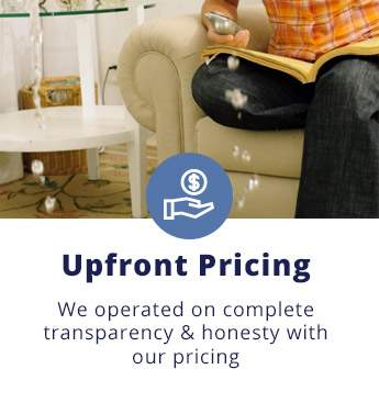 Upfront Pricing: We operated on complete transparency and honesty with our pricing