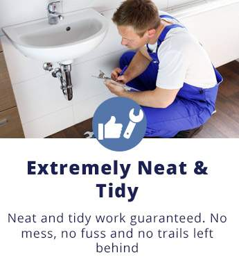 Extremely Neat and Tidy: Neat and tidy work guaranteed. No mess, no fuss and no trails left behind